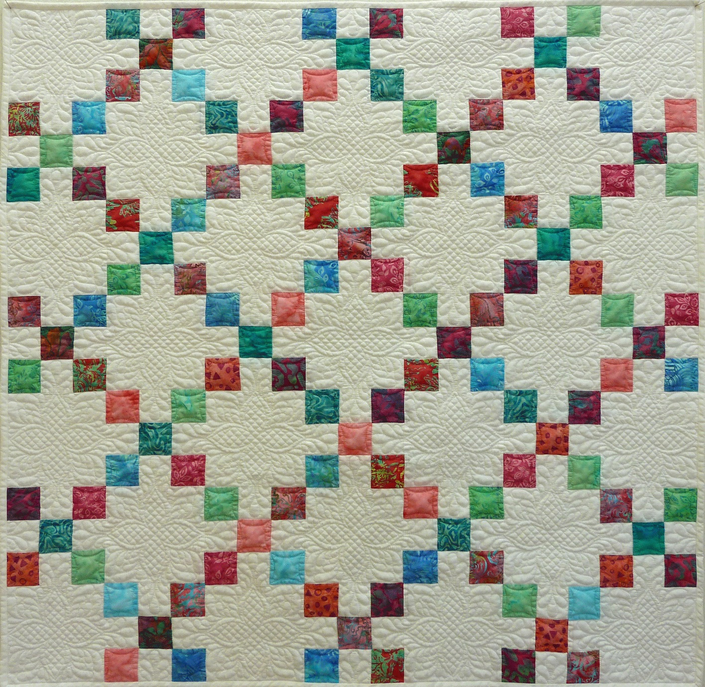 302fd485 Irish Chain Baby Quilt | Quilter's Lane